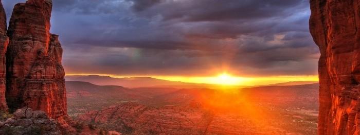 L'Ouest américain, version time lapse