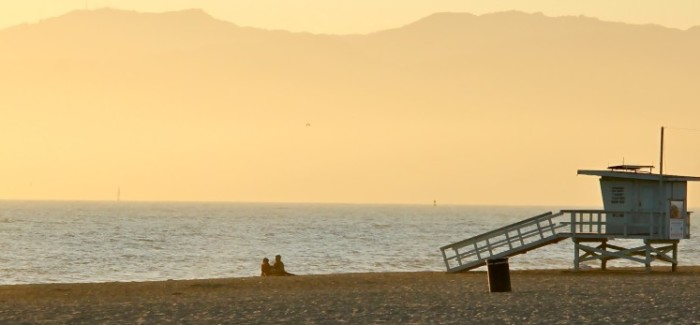 Sous le soleil de Venice beach