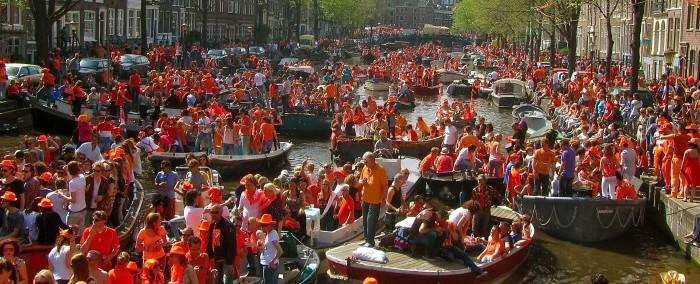 Koninginnedag à Amsterdam