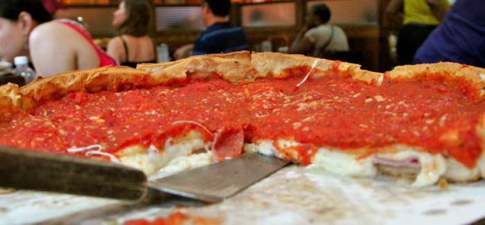 Morfale, j'ai mangé une stuffed pizza à Chicago