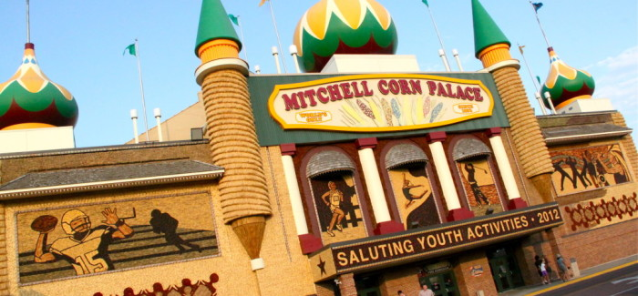 Le Corn Palace de Mitchell, le plus pop des palais de maïs