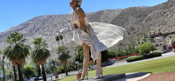 Marilyn Monroe, les plus célèbres dessous de Palm Springs