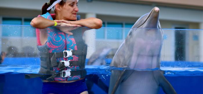 J'ai nagé avec les dauphins dans le premier Marineland du monde