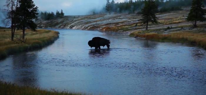 La vidéo du jour : le Yellowstone et le Grand Teton vus par Voortex
