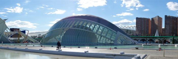 Soleil d'hiver à Valencia