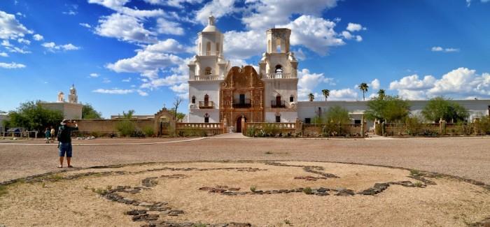 Mission San Xavier del Bac, la colombe du désert