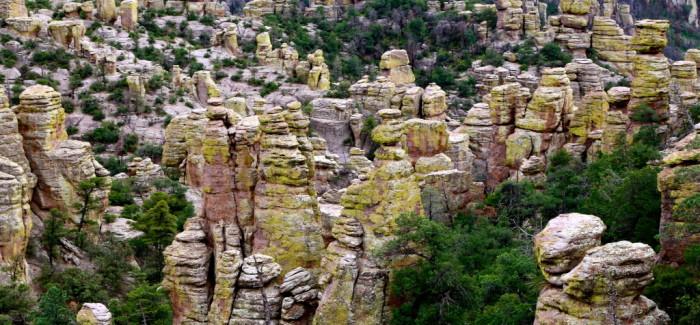 Chiricahua National Monument, là où les pierres se tiennent debout
