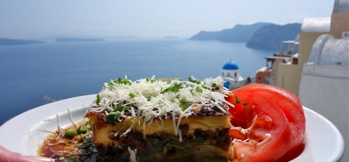 Morfale, on a mangé grec dans les Cyclades