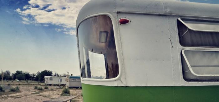Dormir dans un Airstream à Marfa, Texas
