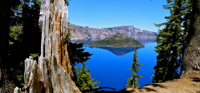 Crater Lake, bleu de toi