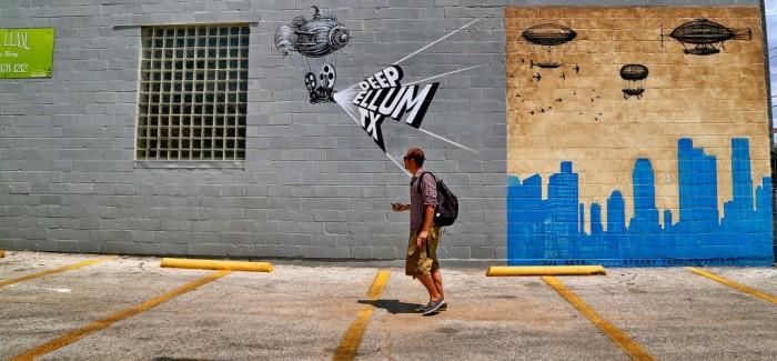 Deep Ellum, balade street art dans Dallas