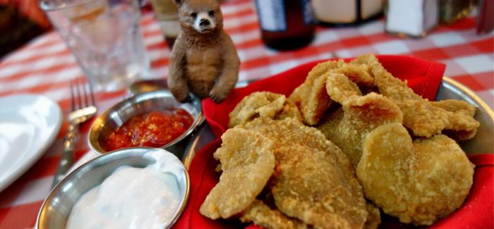 Morfale, on mangé des huîtres du Colorado* (* des couilles de taureau)